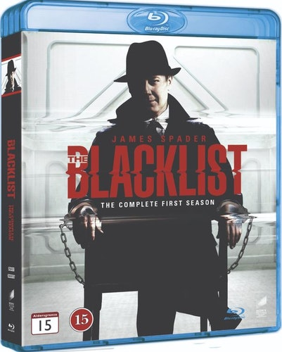 BLACKLIST - säsong 1 (bluray)