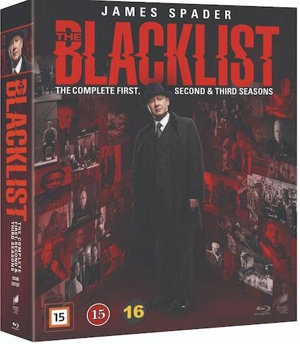 Blacklist  - säsong 1-3 (bluray)
