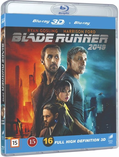 BLADE RUNNER 2049 (3D+2D) bluray
