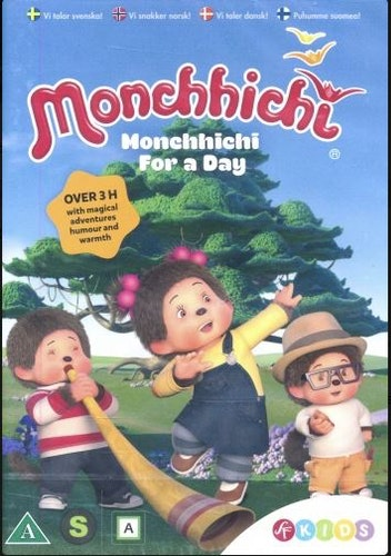 Monchhichi - Säsong 1: Monchhichi For A Day (DVD)