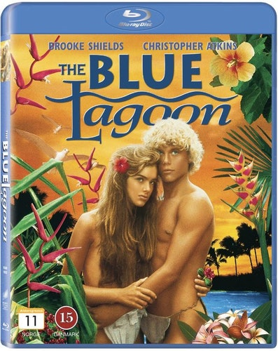 Den blå lagunen/The blue lagoon (bluray)