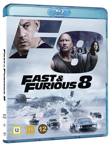Fast and furious 8 bluray