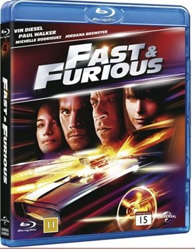 Fast and furious 4 bluray