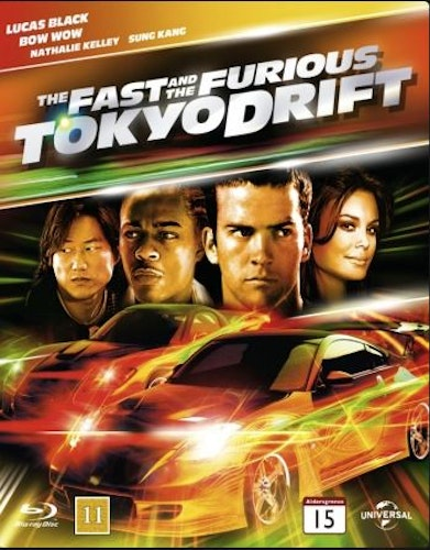 Fast and furious 3: Tokyo drift bluray