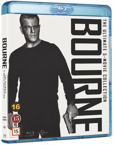 BOURNE 1-5 COLLECTION (bluray)