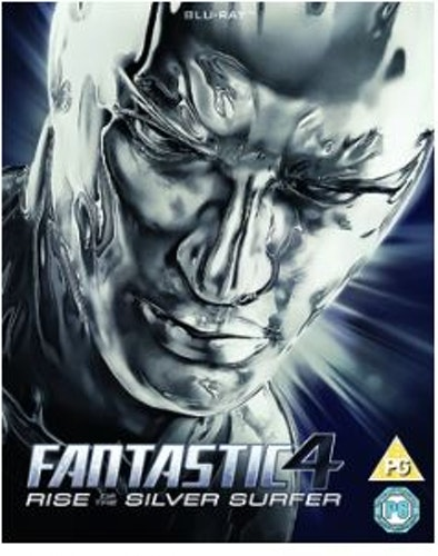 Fantastic 4 - Rise Of The Silver Surfer (bluray)