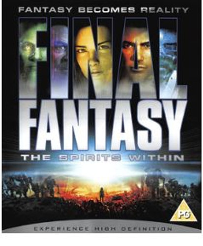 Final Fantasy - The Spirits Within (bluray import)