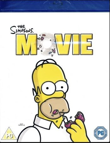 Simpsons: The Movie bluray (import)