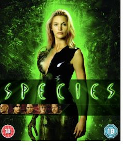Species (bluray, import)