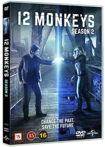 12 MONKEYS - säsong 2 DVD