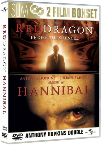 Hannibal+Red dragon DVD