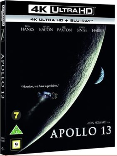 Apollo 13 4K UHD bluray