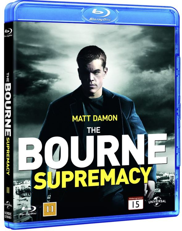 The Bourne Supremacy bluray UTGÅENDE
