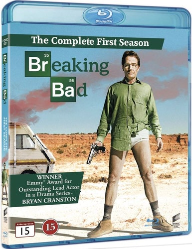 Breaking bad - Säsong 1 bluray UTGÅENDE