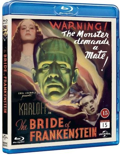 Bride of Frankenstein/Frankensteins brud bluray