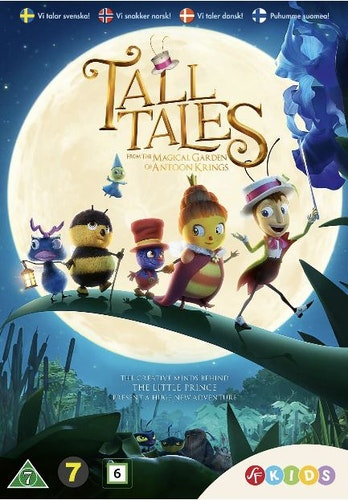 The tall tales/Lustiga små kryp Magical garden DVD