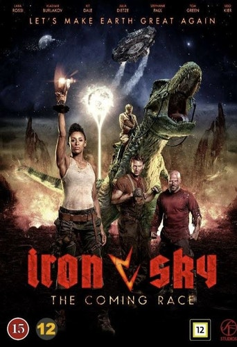 Iron Sky: The Coming Race DVD