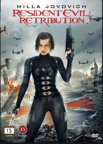 Resident Evil: Retribution DVD