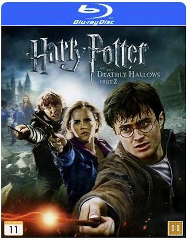 Harry Potter Och Dödsrelikerna - Del 2 bluray
