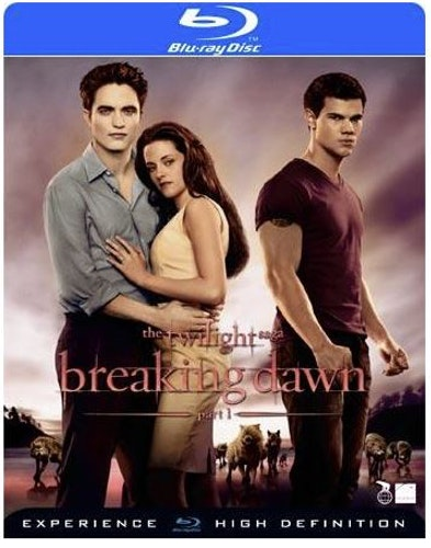 The Twilight Saga: Breaking Dawn Part 1 bluray