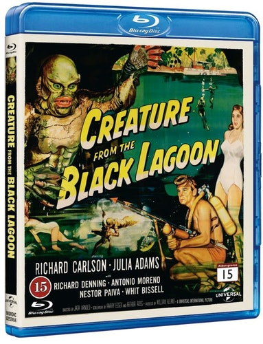 Creature from the Black Lagoon bluray