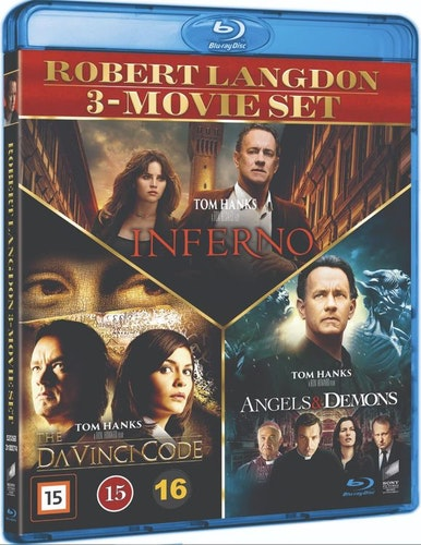 Dan Brown 1-3 box bluray