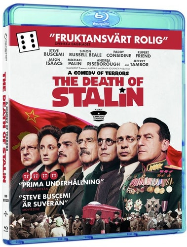 The death of Stalin bluray