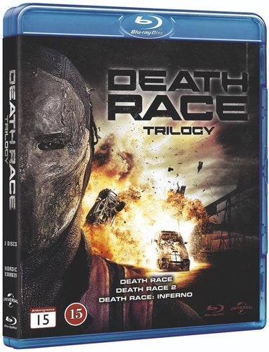 Death Race 1-3 trilogy bluray