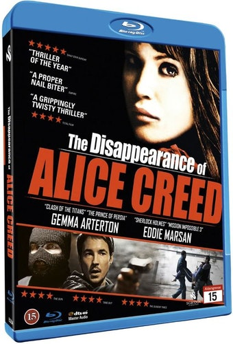 The Disappearance of Alice Creed bluray