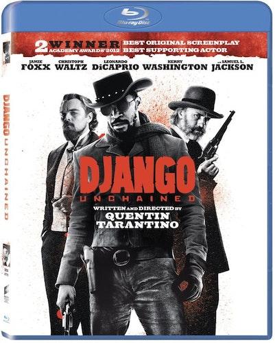Django Unchained bluray