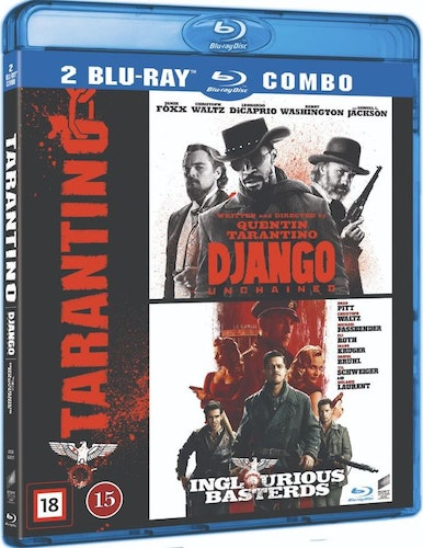 Django Unchained + Inglourious Basterds bluray box