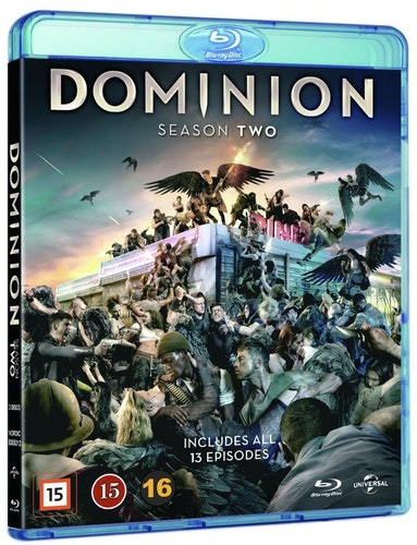 Dominion - Säsong 2 bluray UTGÅENDE