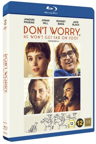 Don't Worry, He Won't Get Far on Foot bluray