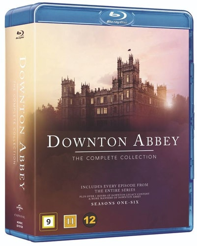 Downton Abbey - The Complete Collection bluray