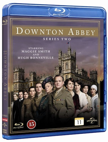 Downton Abbey - Säsong 2 bluray