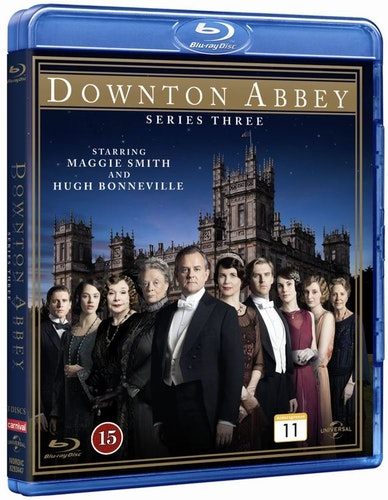 Downton Abbey - Säsong 3 bluray