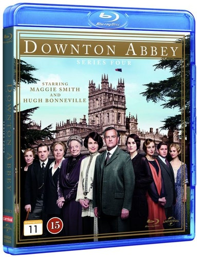 Downton Abbey - Säsong 4 bluray