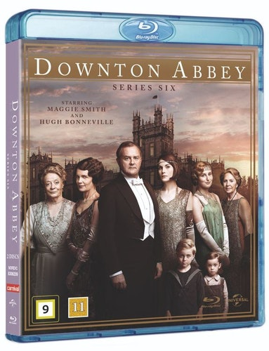 Downton Abbey - Säsong 6 bluray