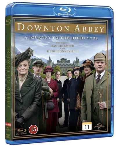 Downton Abbey: A Journey to the Highlands bluray