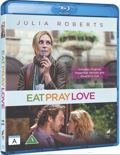 Eat Pray Love bluray