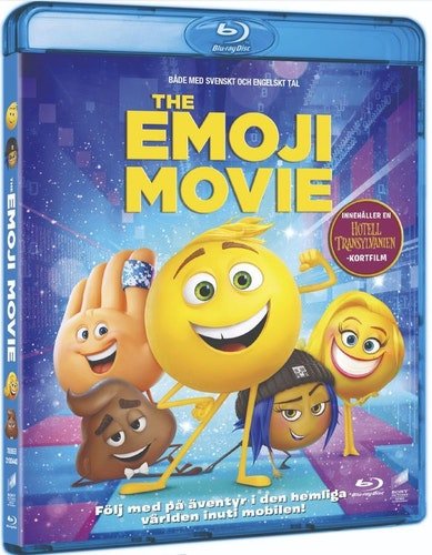 The Emoji Movie bluray UTGÅENDE