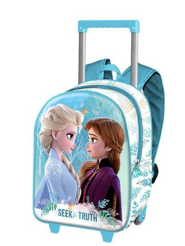 Disney Frost 2 Anna och Elsa rese 3D rullväska 38cm