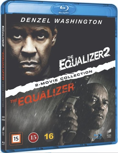 The Equalizer 1+2 bluray box