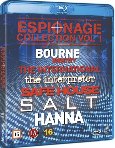 Espionage Collection - Vol 1 bluray