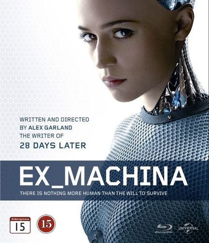 Ex Machina bluray