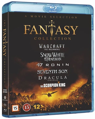 The Fantasy Collection bluray box