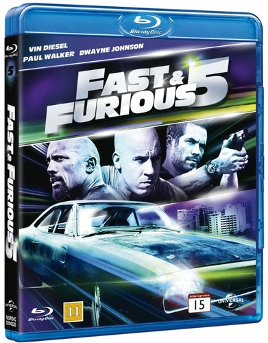 Fast & Furious 5 bluray