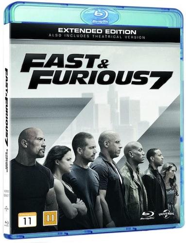 Fast & Furious 7 bluray