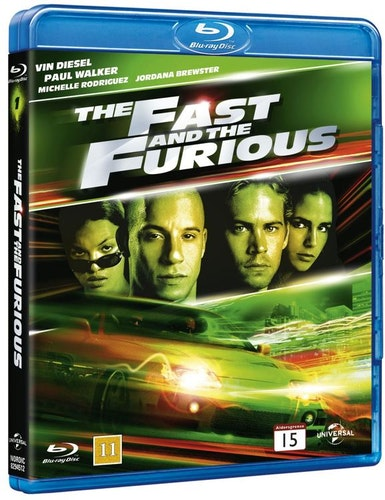 The Fast and the Furious bluray