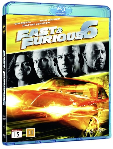 Fast & Furious 6 bluray